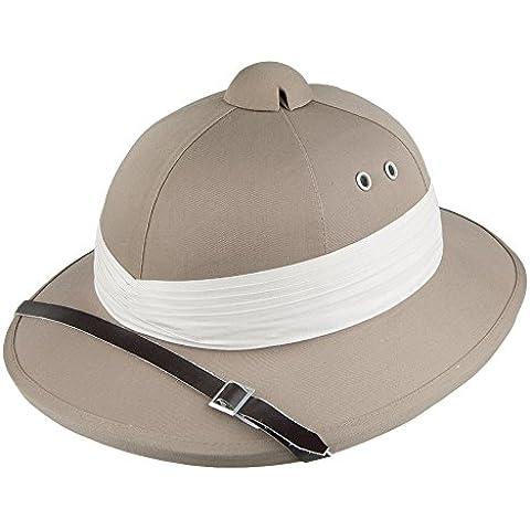 Village Hats African Safari Pith-Sombrero Hombre