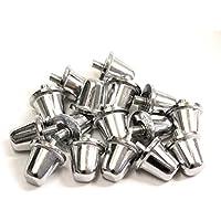 16 x Rugby Union Aluminium Screw In Studs 21mm