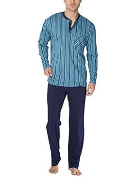 Calida Clint Herren Pyjama, Conjuntos de Pijama para Hombre