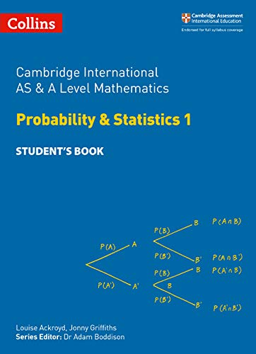 Collins Cambridge AS & A Level - Cambridge International AS & A Level Mathematics Statistics 1 Student's Book