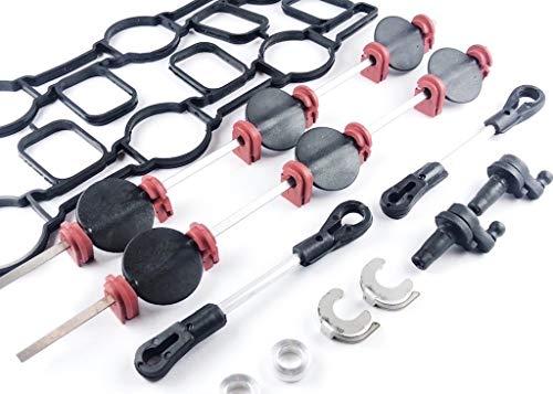 Bincar 2.7 3.0 TDI V6 Reparatur Satz Saugrohr Saugrohrklappe A4 A5 A6 a7 A8 Q5 Q7 touareg cayenne Ansaugkrümmer 059129711, 059129712, 059129086