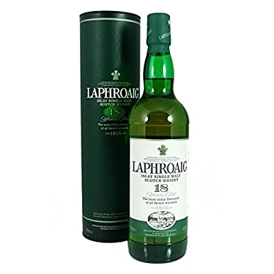Laphroaig 18 Year Old Whiskey 70 cl