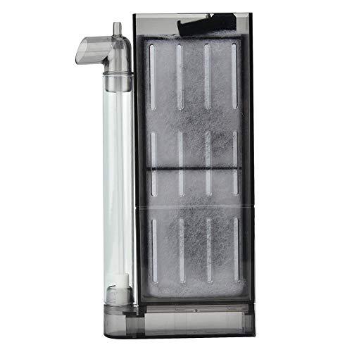 filter Aquariumfilter Luftheber Filter Aquarium biochemische Aktivkohlefilter Aquarium Sauerstoff Filtrations Ausrüstung Innenfilter für Aquarium(Filter für 30-40cm Aquarium) ()