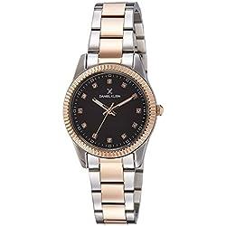 Daniel Klein Analog Brown Dial Women's Watch-DK11185-7