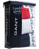 Gant Classic Boxer Short Trunk 3 Pack Multi Navy/White/Red XL