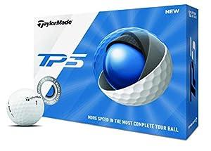 TaylorMade Unisex 2019 TP5 Golfball, Weiß, 1 Stück