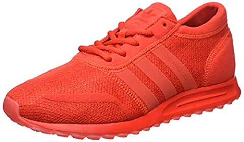 adidas Herren Los Angeles Sneaker, Rot (Core Red/Core Red/Core Red), 42 2/3 EU