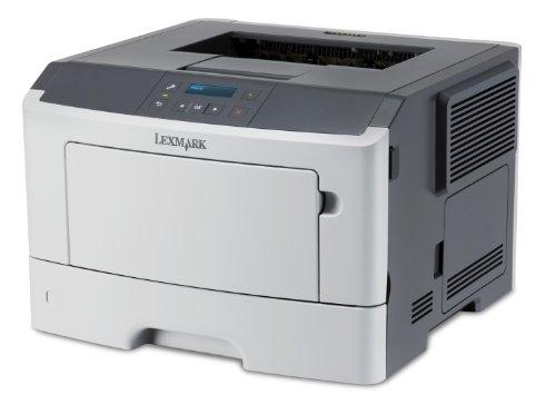 Lexmark MS410D Laserdrucker (1200 dpi, USB 2.0, 54 dB(A), DIN A4) graphit/weiß