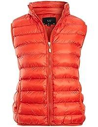 9d75fc6ee Amazon.co.uk: Orange - Gilets / Coats & Jackets: Clothing