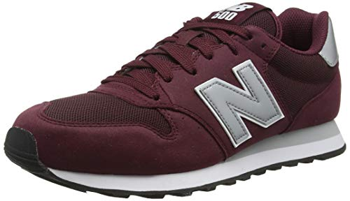 New Balance Herren GM500 Sneaker, Rot (Burgundy/GM500BUS), 43 EU -