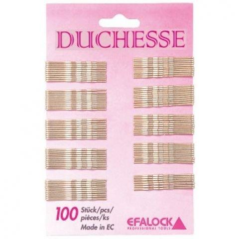 Efalock Duchesse cheveux clip/or 5 cm Lot de 100 Duchesse cheveux clip/or 5 cm 100 pièces