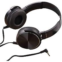 SamMoSon 2019 Auriculares Bluetooth Inalambricos Estereo Bluetooth,Ver-Ear Teens con Micrófono Auriculares Plegables