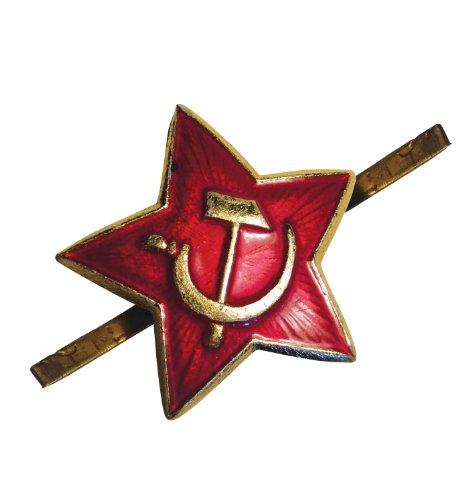 Soviet ganwear® URSS Russian Army Military S RED Star Pilotka Cappello Berretto Kokarda Pin Badge