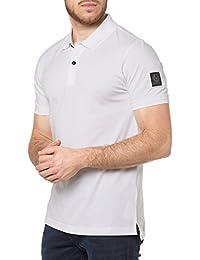Belstaff Hombres camisa de polo Slim fit granard Blanco