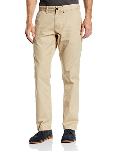 Gant N Haven Gant Chino, Pantaloni Uomo, Beige (Dark Khaki 248), W38/L36 (Taglia Produttore: 38/36)