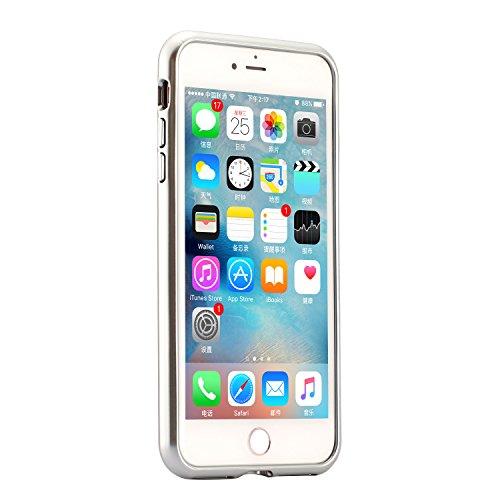 Custodia Cover iPhone 7/8,Ukayfe Ultra Slim Custodia Cover Resistenti per iPhone 7/8 con 2 in 1 Confine di Placcatura Disegni Bella Vintage Elegante Cristallo Casa Coperture Sottile Morbida Soft TPU S Argento 4#