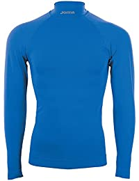 Joma Brama Classic, Camiseta térmica Unisex, Azul royal, L/XL
