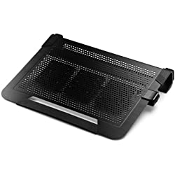 Cooler Master NotePal U3+ 12-19 Refroidisseur pour Ordinateur portable Noir