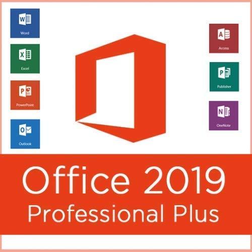 Office 2019 Professional Plus | Clave de producto y enlace de descarga | Enviado por EMAIL | Compatible solo con Windows 10