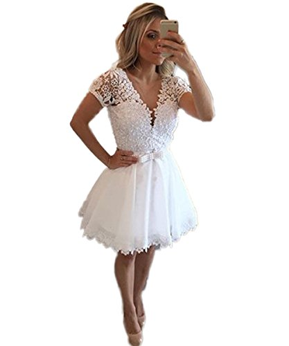CoCogirls - Robe - Taille empire - Femme Ecru