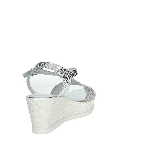 Cinzia Soft IG9736 001 Sandale Femme Argent