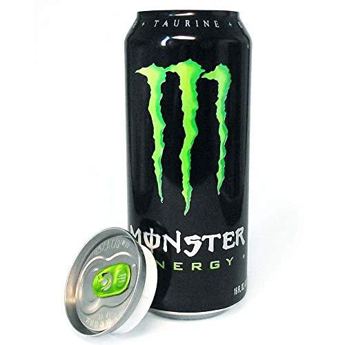 8c94d734e20 Geldversteck Geheimdose Monster Energy Blue Geld Versteck Getränkedose -  Dosentresor Dosen safe