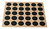 Brinox B77900N - Embellecedor cubre-tornillos adhesivo