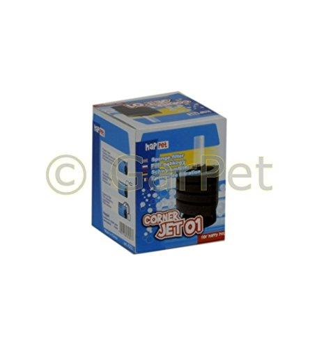 CORNER JET ECK Schwammfilter Innenfilter Biofilter Filter Filterschwamm Standfuß (Corner-Jet 01)