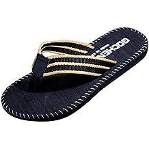 Chanclas Sandalias Zapatillas de Hombres, FAMILIZO Zapatos Los Hombres De Verano Flip Flops Zapatos Sandalias Zapatillas Flip-Flop