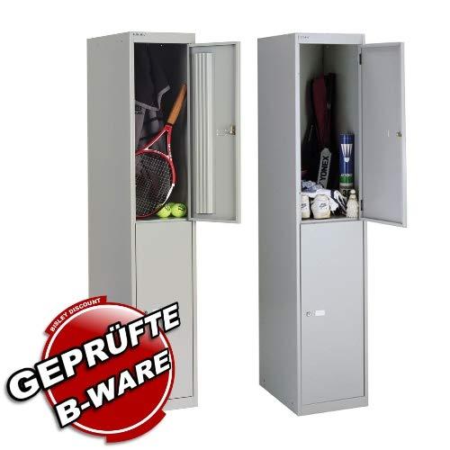 2 Stück • Garderobenschrank Office • Bisley CLK122645