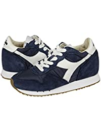 DIADORA DONNA 160445 60033 SNEAKER BLU SUEDE-NYLON FALL-WINTER 2016 c47948a265e
