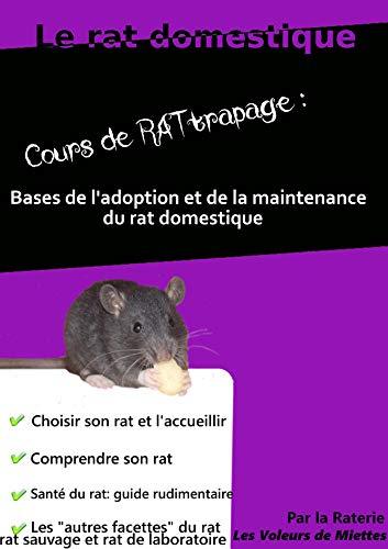 Le rat domestique, cours de RATtrapage: Bases de l'adoption et de la maintenance du rat domestique par Amandine Landrieux