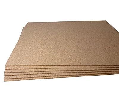 1 m² / Ökotherm Stärke 5 mm Akustik-Raumklangplatte / Tritt- und Gehschalldämmung für Laminat und Parkett von United foam Industries GmbH bei TapetenShop