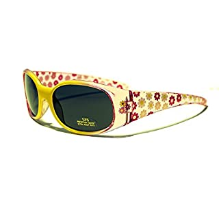 Rocket Tracey Sonnenbrille, Mädchen XS gelb/Rosa