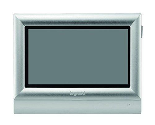 Legrand, Video-Innenstelle mit 7 Zoll Hochglanz-Farbbildschirm zur Erweiterung des 7 Zoll Videokits (369320) zum 2-Familienhaus, 369325