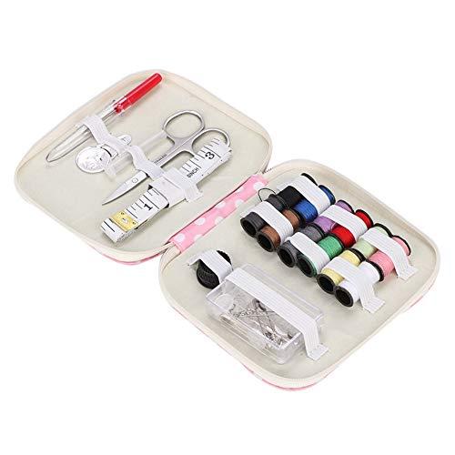 Nähzeug, Nähzubehör mit Nähzubehör, tragbares Mini-Nähzeug für Anfänger, Reisende und Notfälle, mit Premium