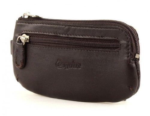 Preisvergleich Produktbild Esquire Silk Schlüsseletui - Braun