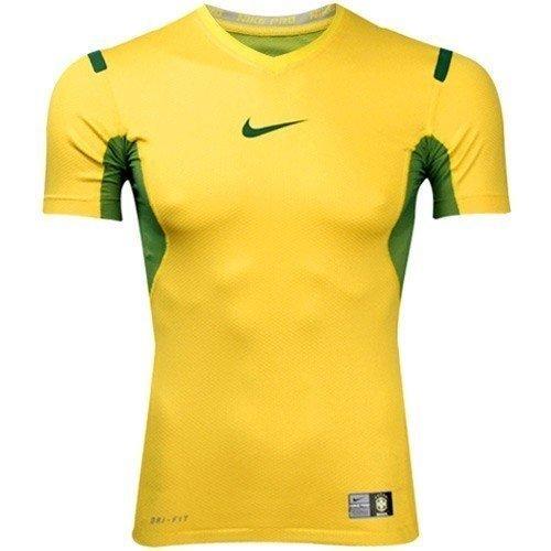 Nike shirt pro vapor iGN brazil avec col en v