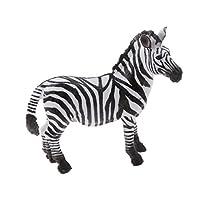 MagiDeal Realistic Zebra Wildlife Zoo Animal Model Figurine Figure Kids Toy Gift Collectibles