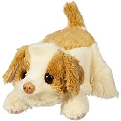 Fur Real Friends Snuggimals 1 - Perro de peluche, color beis y cobre (Hasbro)