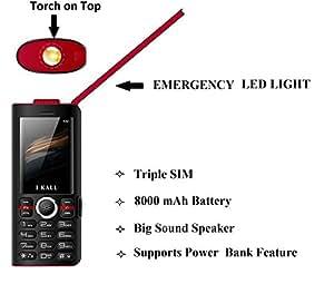 I kall k42 8000 mah powerbank phone black i kall k42 black share facebook twitter pinterest fandeluxe Gallery