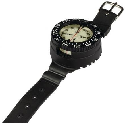 Mares Mission 1C Kompass, Black, One Size