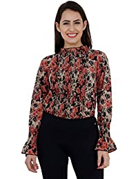 A Thousand things Women's Floral Regular Fit Top