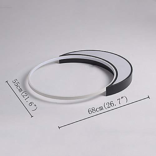 Deckenleuchten Einbauleuchten Lackierte Oberflächen Metall LED Weiß/Dimmbar Mit Fernbedienung_Control_ -