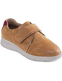 Padders cuero de las mujeres del zapato 'Release' | con sistema de ajuste anchura doble | Grande para gran Anchura adicional EE-EEE| Cuerno de zapato libre
