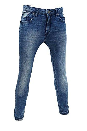 57f7ac11bc9ce LCJ Denim Boys Skinny Stretch Skinny Acid Wash Jeans Ages 3 To 12
