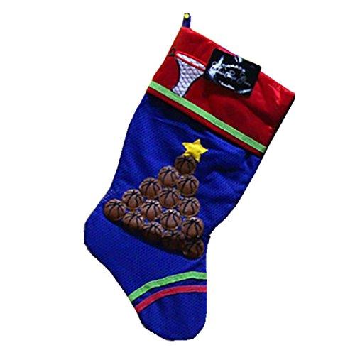 AMUSTER Weihnachtsgeschenke Weihnachten Weihnachtsmann Schneemann Socken Dekorationen Weihnachten Fußball Socken Anhänger (A)