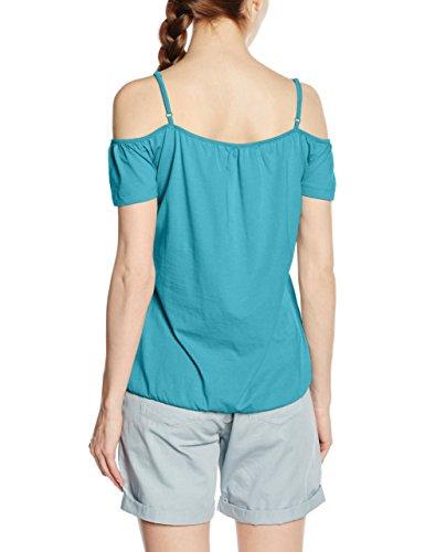 edc by ESPRIT Damen T-Shirt Blau ( 370)