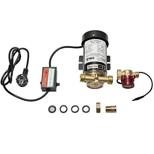 DAMBAT / IBO Druckerhöhungspumpe 0,8-1 bar Boosterpumpe 230V- 90W - 20L/min für Dusche,Wasserhahn,Boiler, Waschmaschine