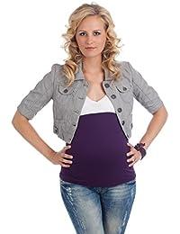 mamaband Bauchbinde Bauchband Basic Lila Gr. L 44 - 48